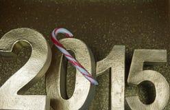 Neue Jahre Nacht Lizenzfreie Stockfotografie