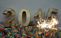 Neue Jahre Nacht Stockbilder