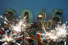 Neue Jahre Nacht Stockfoto