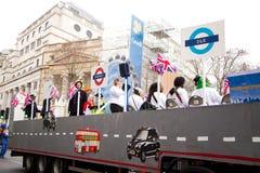 Neue Jahre Parade Lizenzfreies Stockbild