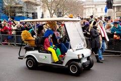 Neue Jahre Parade Lizenzfreie Stockfotografie
