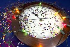 2015 neue Jahre Partei-Hintergrund- Lizenzfreie Stockfotos