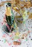 Neue Jahre Partei-Nachwirkungs- Stockbild