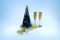 Neue Jahre Party- Stockfotos