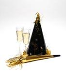 Neue Jahre Party- Stockbild