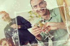 Neue Jahre Party- Lizenzfreies Stockfoto