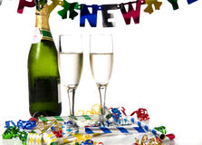 Neue Jahre Party- Lizenzfreie Stockfotos