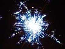 Neue Jahre Sparkler- Stockfoto