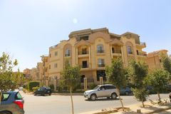 Neue Kairo-Stadt Stockfoto