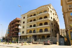 Neue Kairo-Stadt Lizenzfreie Stockbilder