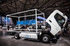 Neue Kanter-E-Zelle Mitsubishis Fuso Lizenzfreies Stockbild
