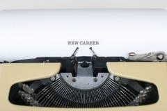 Neue Karriere Lizenzfreies Stockfoto