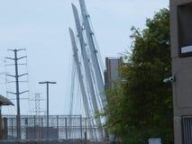 Neue Katy Trail Pedestrian Bridge Lizenzfreie Stockfotos