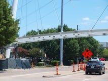 Neue Katy Trail Pedestrian Bridge Lizenzfreies Stockfoto