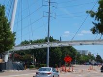 Neue Katy Trail Pedestrian Bridge Stockfotografie