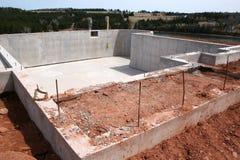 Neue Keller-Grundlage Stockbild
