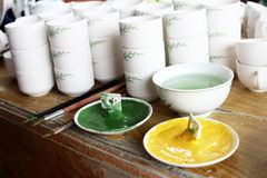 Neue Keramik und Glasuren Lizenzfreies Stockbild
