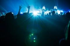 Neue Kinder auf dem Block-Konzert in Montreal Stockbild