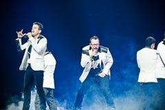 Neue Kinder auf dem Block-Konzert in Montreal Lizenzfreies Stockfoto