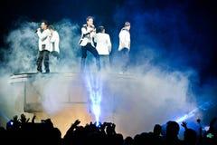 Neue Kinder auf dem Block-Konzert in Montreal Stockfoto