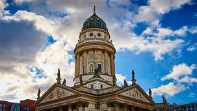 Neue Kirche, Gendarmenmarkt, Berlijn, Duitsland royalty-vrije stock afbeelding