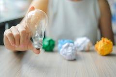Neue kreativer, des Genies und der Innovation Konzepte der Idee, lizenzfreie stockbilder
