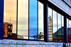 Neue London-Reflexion Lizenzfreie Stockfotos
