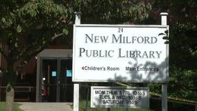 Neue Milford-öffentliche Bibliothek (1 von 3) stock video