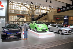 Neue Modelle Mitsubishis Lizenzfreie Stockbilder