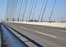 Neue moderne Brücke Lizenzfreies Stockfoto