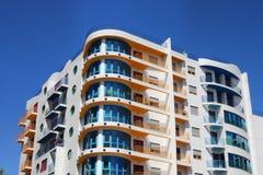 Neue moderne Wohnungen Lizenzfreies Stockfoto