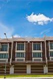 Neue moderne Wohnungen Lizenzfreies Stockbild