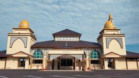 Neue Moschee bei Bandar Pusat Jengka stockfoto