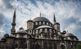 Neue Moschee in Istanbul die Türkei Lizenzfreie Stockfotos