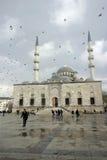 Neue Moschee Yeni Camii Istanbul Stockfotografie