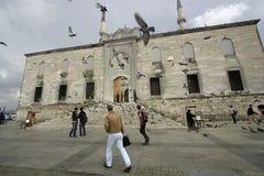 Neue Moschee Yeni Camii Istanbul Lizenzfreie Stockfotos