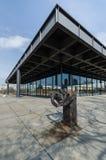 Neue Nationalgalerie美术画廊在柏林,德国 免版税库存照片