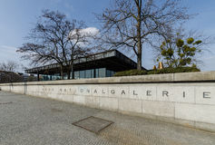 Neue Nationalgalerie美术画廊Apirl 17日2013年在柏林, G 库存照片