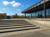 Neue Nationalgalerie Royalty Free Stock Photo