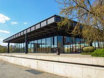 Neue Nationalgalerie Stock Images