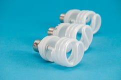 Neue neue moderne wirtschaftliche Leuchtstoff Glühlampe Lizenzfreie Stockfotografie