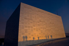 Neue Operen-Auslegungpurpuroberseite Lizenzfreies Stockbild