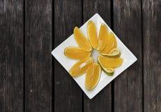 Neue orange Scheibe Lizenzfreies Stockfoto