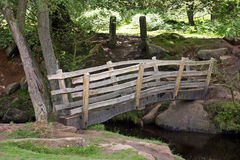 Neue Padley Schlucht-Brücke stockfotografie