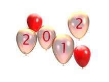 Neue Party 2012 Stockbild