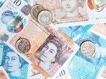 Neue Pfund-Anmerkungen Lizenzfreies Stockfoto