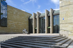 Neue Pinakothek à Munich Image stock
