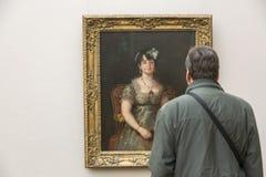 Goya painting in Neu Pinakothek in Munich Royalty Free Stock Images