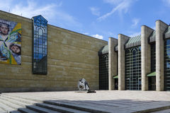 Neue Pinakothek in München Stock Fotografie