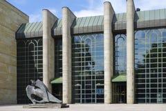 Neue Pinakothek in München Stock Foto's